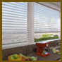 Window blinds, small window blinds, large window blinds